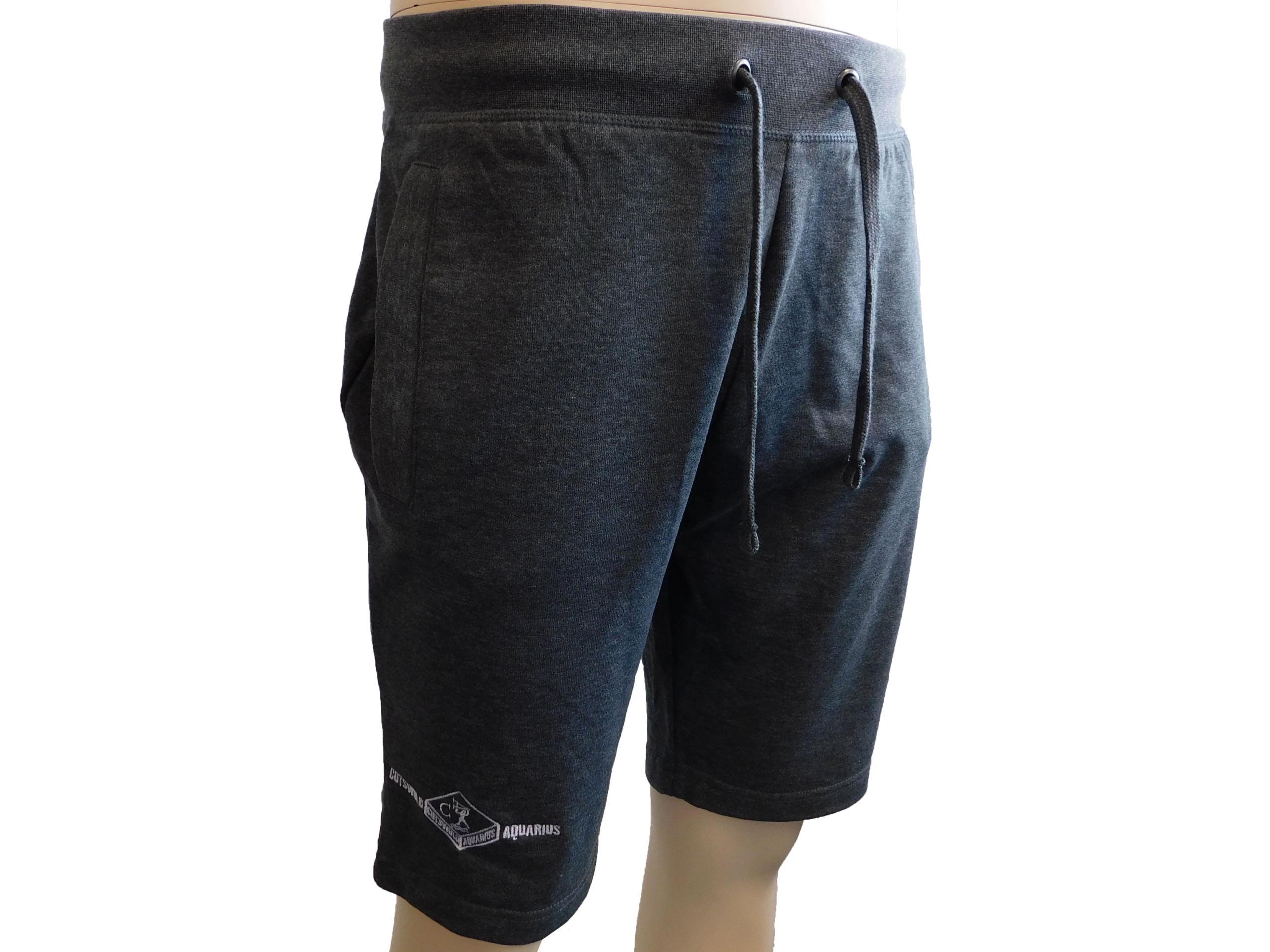 dark grey sweat shorts
